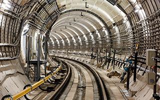 Тоннель между станциями метро Саларьево и Румянцево