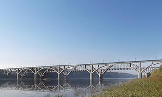 Мост через р. Ока, г. Нижний-Новгород