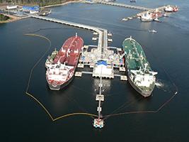 Нефтеналивной терминал, г. Приморск