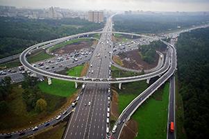 Транспортная развяка на МКАД с Волгоградским-проспектом